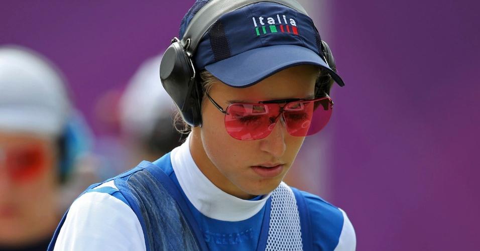 Italiana Jessica Rossi disputa final da fossa olímpica feminina