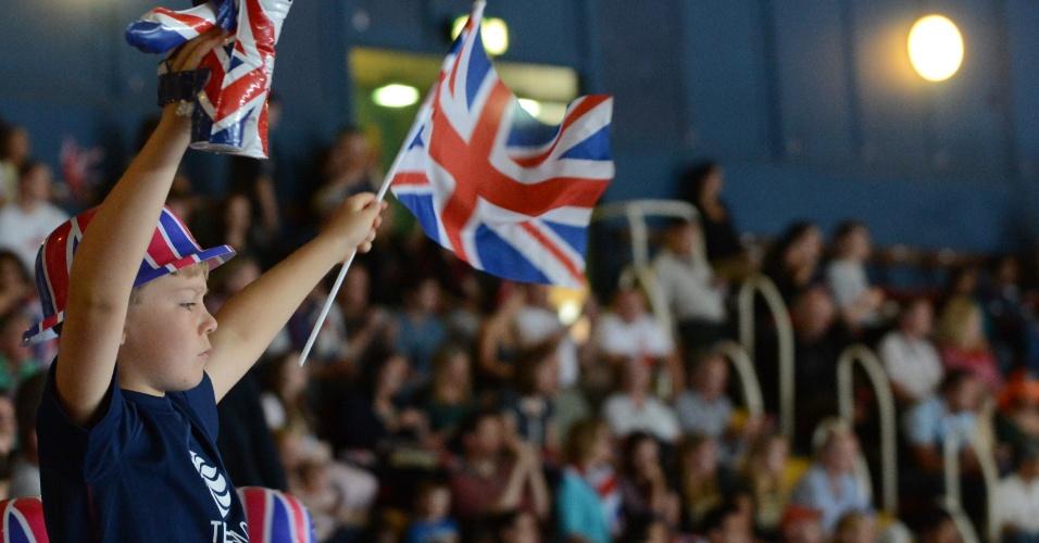 Torcedor mirim do Reino Unido
