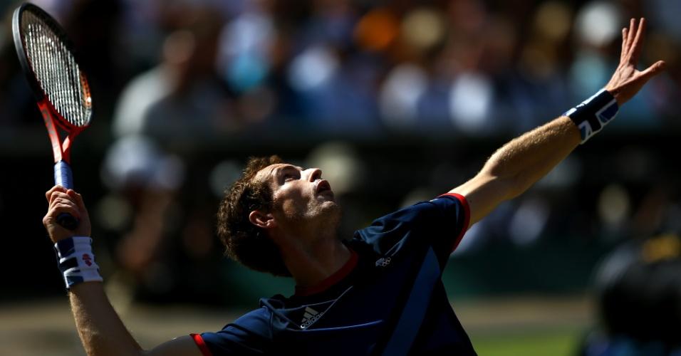 Andy Murray enfrenta Roger Federer na decisão do tênis masculino