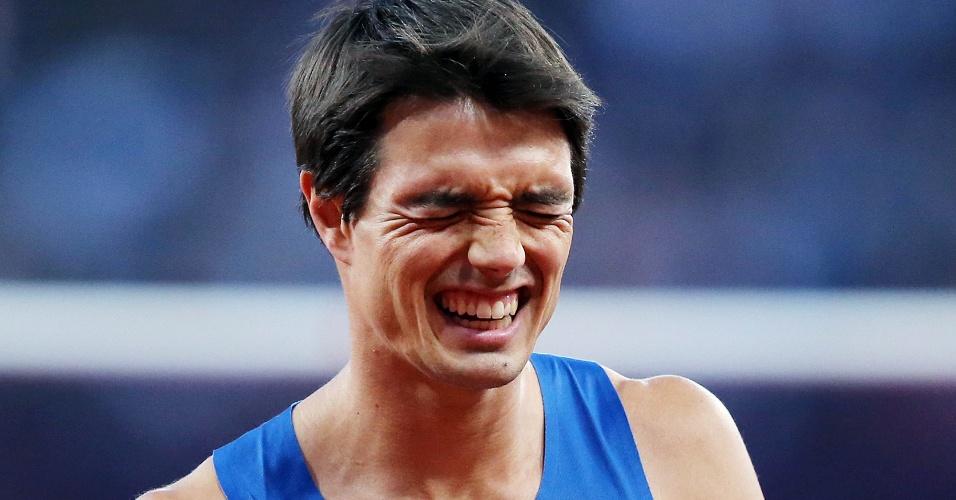 Brasileiro Guilherme Cobbo lamenta desclassificação em eliminatória do salto em altura, neste domingo