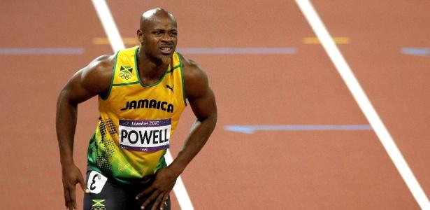 Jamaicano Asafa Powell foi pego no doping e está fora do Mundial de Atletismo - EFE/Alberto Estévez