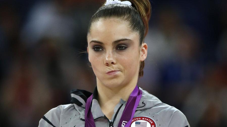 McKayla Maroney foi prata e ouro nos Jogos de Londres-2012 - AFP PHOTO / THOMAS COEX