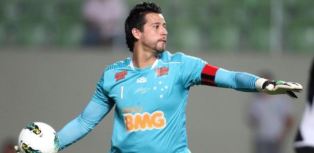 Fábio diz que meta é manter as boas atuações no Cruzeiro e o apoio da  torcida 6fd6f0d5ff56a