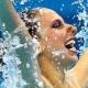 Lara e Nayara ficam em 12º lugar no primeiro dia do nado sincronizado em Londres - Getty Images