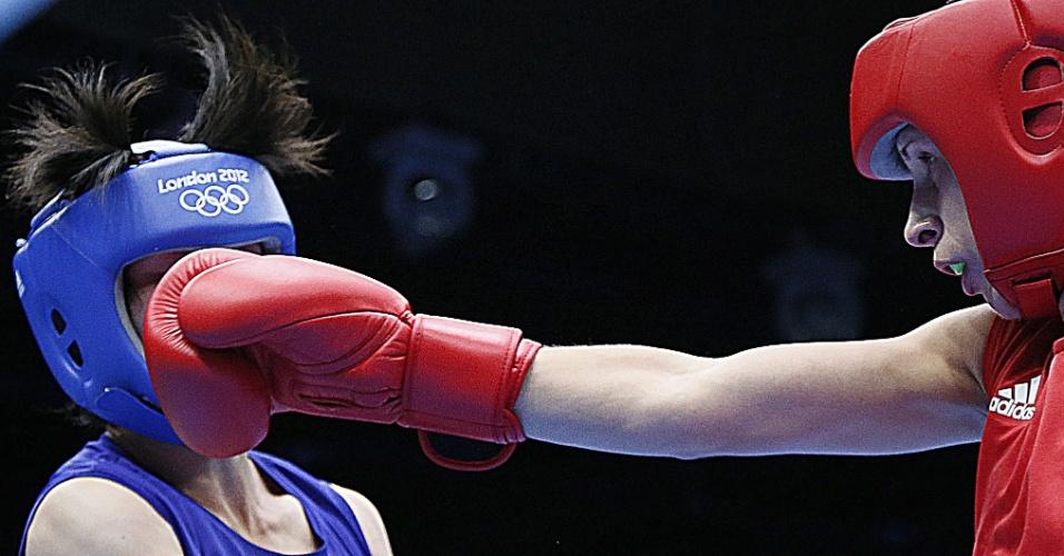 Russa Elena Savelyeva luta contra norte-coreana na estreia do boxe feminino em Jogos Olímpicos