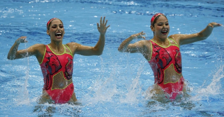 As mexicanas Isabel Delgado Plancarte e Nuria García Diosdado escolheram o rosa como dor dominante no figurino