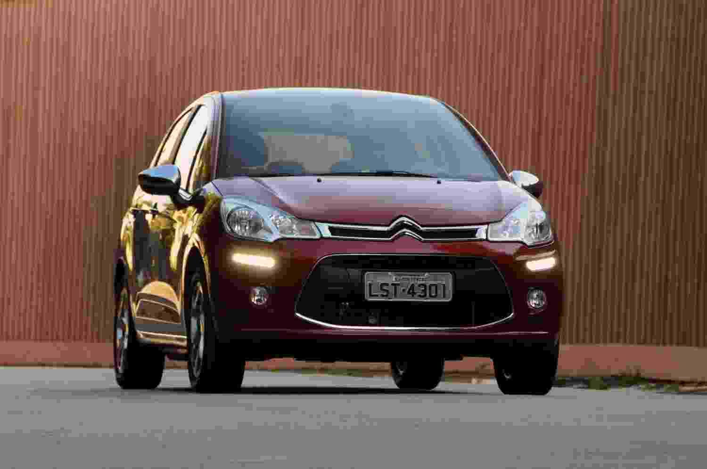 Citroën C3 2013 em sua configuração topo de linha Exclusive 1.6 - Murilo Góes/UOL