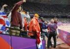 Homem que lançou garrafa em Usain Bolt nos Jogos de Londres é declarado culpado