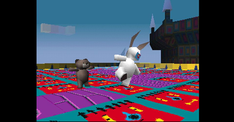 """""""LSD: The Dream Emulator"""" é um inusitado título para PlayStation 2 que tenta recriar sonhos e alucinações"""