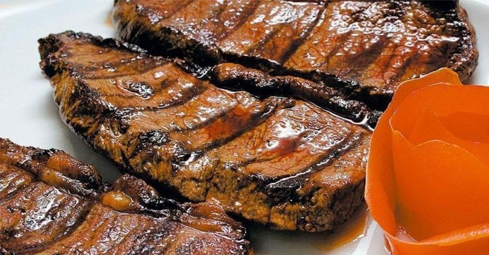 Picanha (bovina) grelhada sem gordura