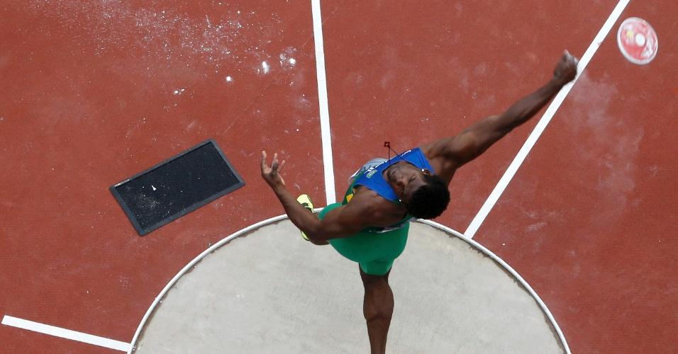Ronald Julião foi mal no lançamento de disco e terminou Olimpíada na última colocação