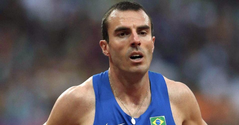Fabiano Peçanha lamenta após eliminação nas semifinais dos 800 m rasos