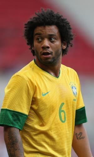 Marcelo, lateral da seleção brasileira de futebol