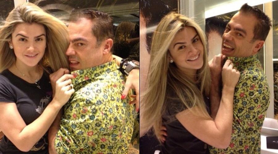 Mirella Santos clareou os cabelos no salão de Marco Antonio Di Biaggi (7/8/12)