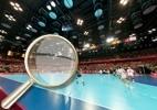 Superfoto: Entre na arquibancada no jogo entre Brasil e Noruega pelo handebol feminino - Arte UOL