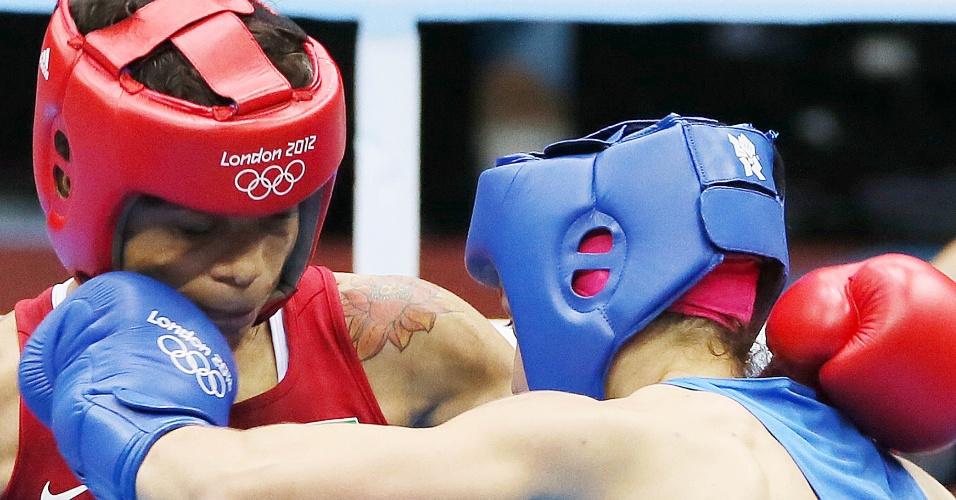 Adriana Araújo foi derrotada pela russa Sofya Ochigava e ficou com a medalha de bronze na categoria até 60 kg