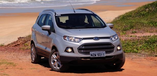 Ford EcoSport Titanium: esta foto prova que o modelo fica MUITO melhor com uma cor normal, como a prata - Murilo Góes/UOL