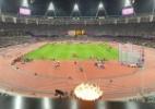 Gigafoto: Tente encontrar e encarar Usain Bolt na linha de chegada dos 100 m rasos em Londres - Getty Images
