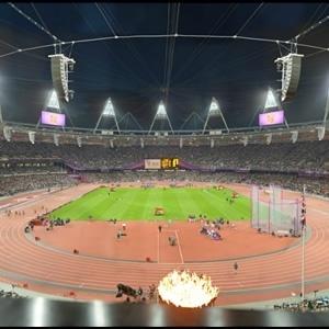 Gigapixel do estádio olímpico de Londres
