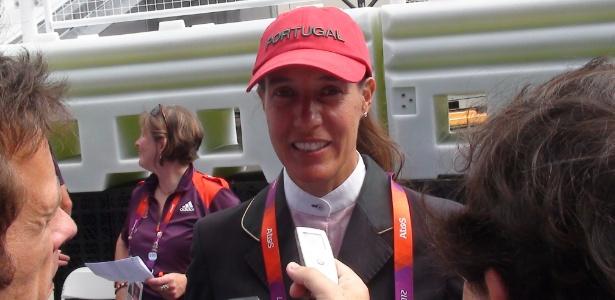 Luciana Diniz, que decidiu competir por Portugal após Brasil vetar cavalo de 18 anos no Mundial