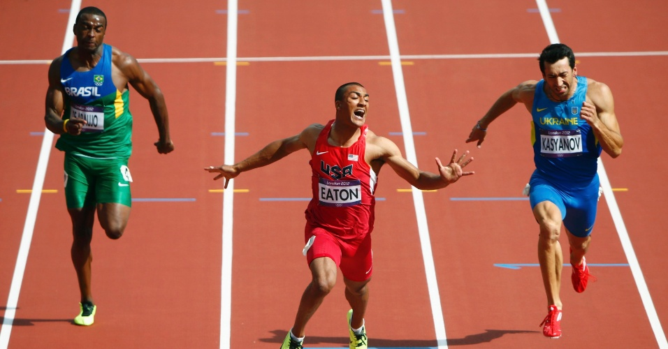 Luiz Alberto de Araujo terminou prova dos 100m rasos do decatlo com sexto melhor tempo
