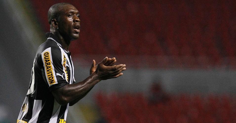 Seedorf reconhece o esforço de seus companheiros na partida entre Botafogo e Palmeiras, no Engenhão