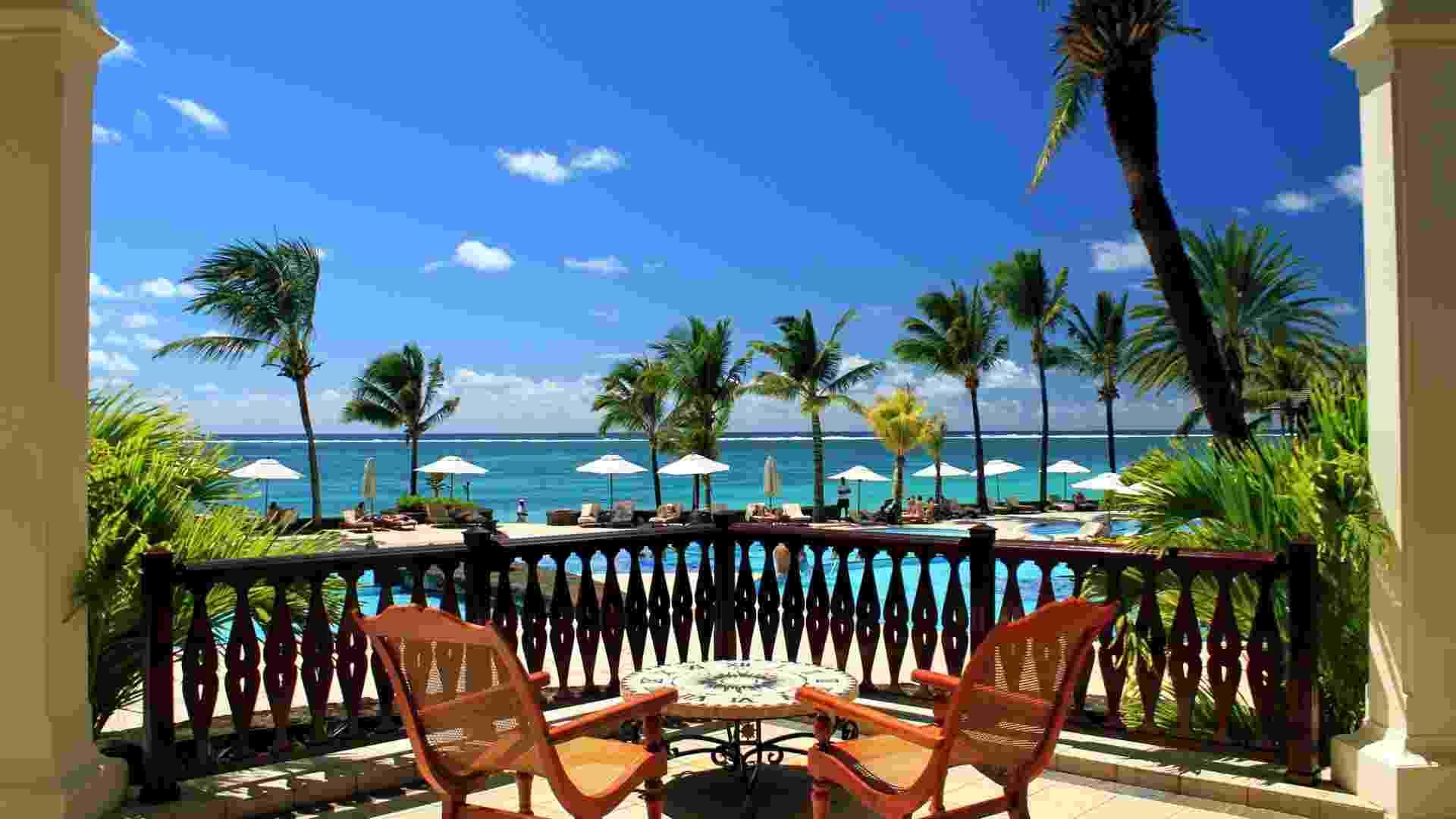 The Residence Mauritius (www.theresidence.com), hotel localizado na paradisíaca Ilha Maurício, a 2 mil km da costa africana - Eduardo Vessoni/UOL