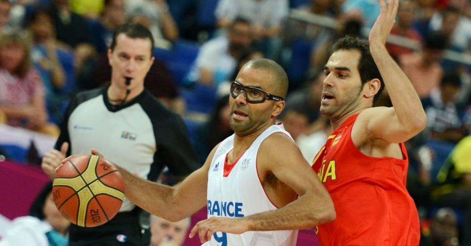 Tony Parker, da França, e Calderon da Espanha