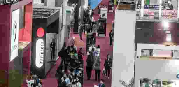 A 22ª Bienal do Livro começou às 10h desta quinta-feira (9/8/2012), no Pavilhão de Exposições do Anhembi - Leonardo Soares/UOL