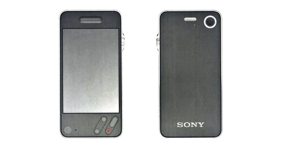 A Samsung também apresentou durante o processo um documento com a imagem acima. De acordo com a empresa sul-coreana, o iPhone foi inspirado em protótipos de smartphone da fabricante japonesa Sony