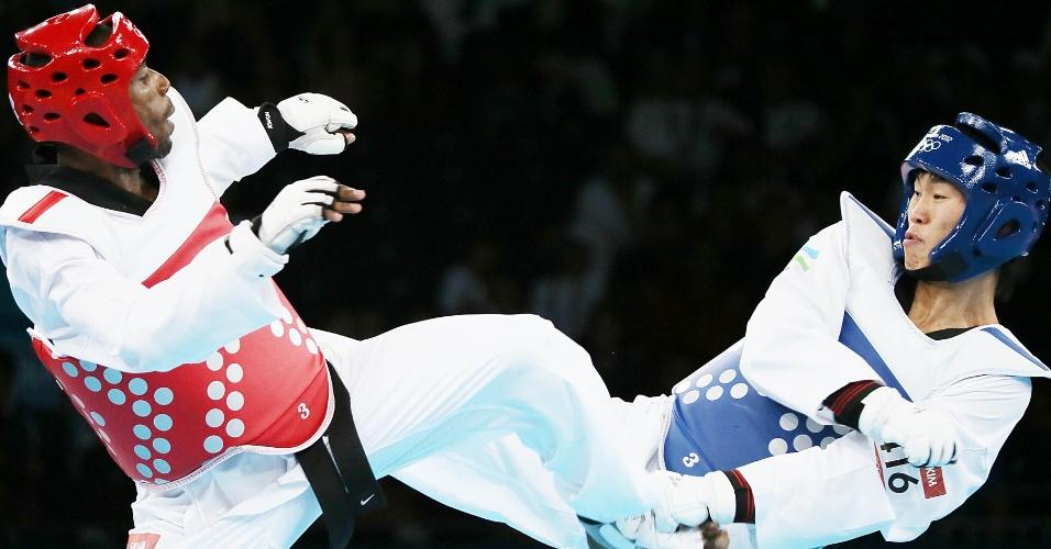 Brasileiro Diogo Silva venceu seu primeiro desafio na categoria até 68 kg do taekwndo nos Jogos Olímpicos