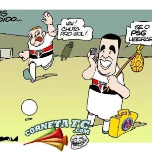 Corneta FC: Lucas é do PSG, mas fica no São Paulo até dezembro...