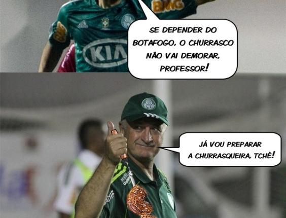 Corneta FC: Se depender do Botafogo, churrasco para Barcos sairá logo
