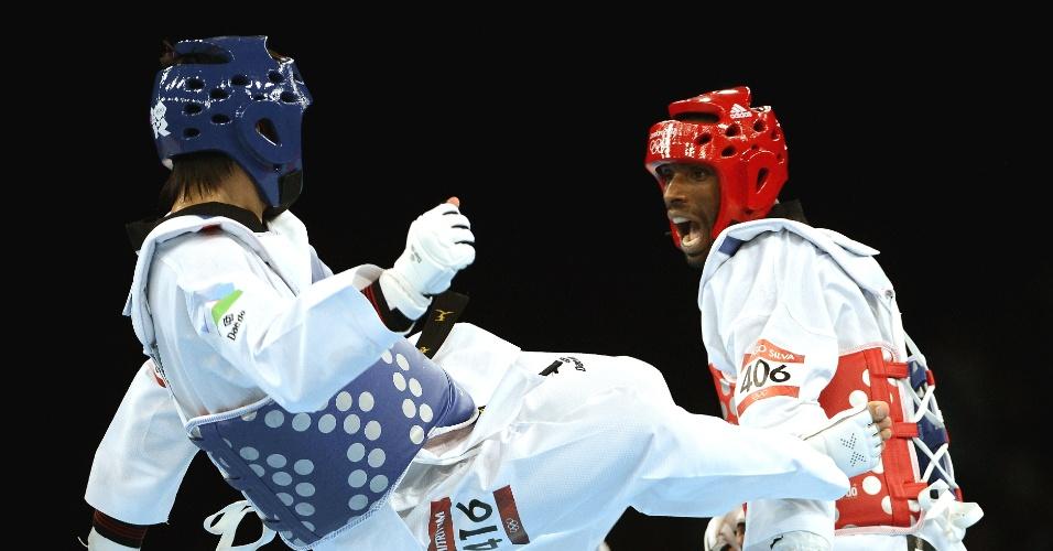 Diogo Silva enfrenta uzbeque e vence sua primeira luta dos Jogos de Londres, no golden score