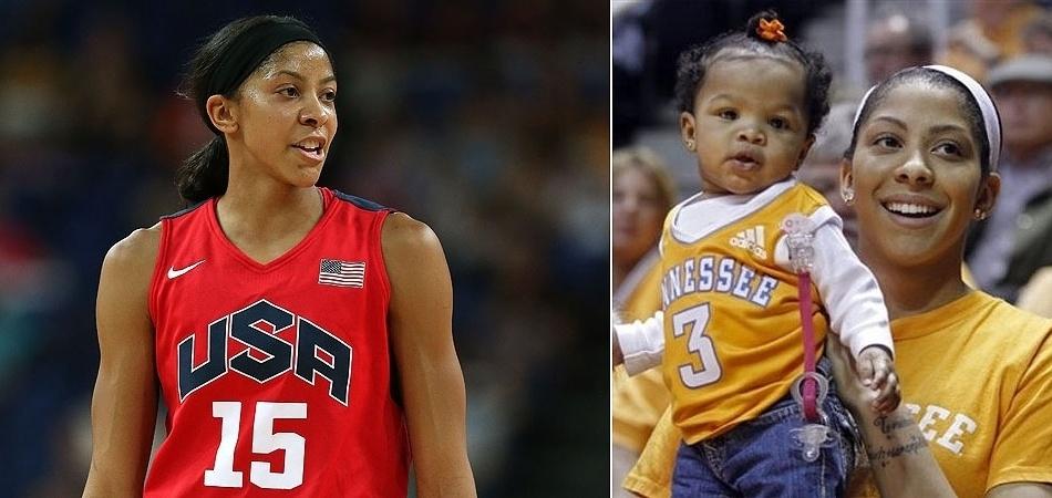 Em 2009, Candance Parker interrompeu temporariamente suas atividades na WNBA para ser mãe de Laila. Hoje, está em Londres próxima do bicampeonato olímpico de basquete