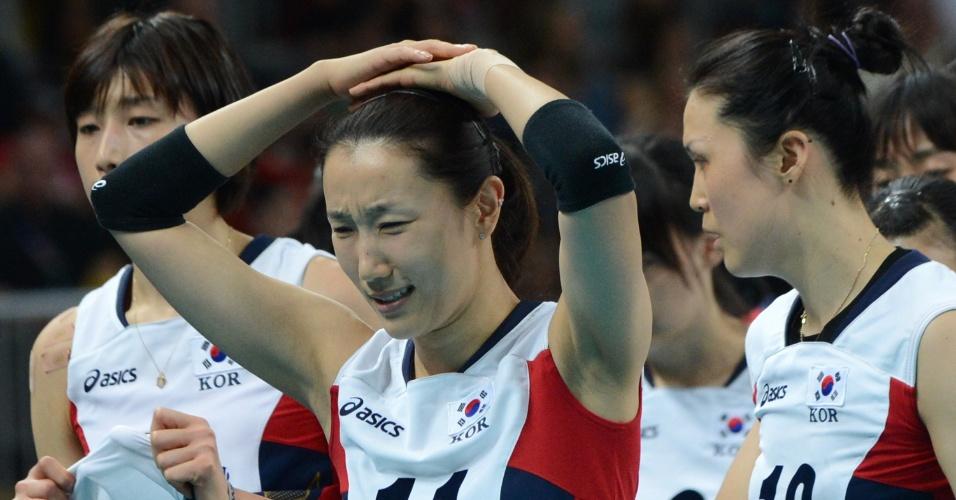 Han Yoo-Mi, atleta da seleção sul-coreana de voleibol