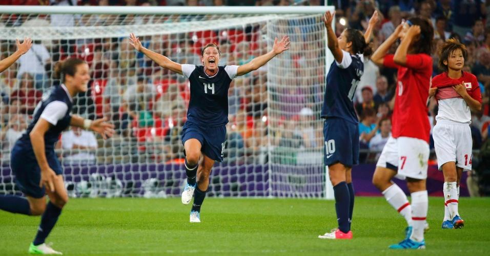 Norte-americanas comemoram quarta medalha de ouro conquista em Olimpíadas