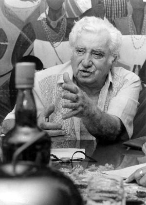 """O escritor Jorge Amado é autor de """"Capitães de Areia"""", """"Tieta do Agreste"""" e """"Dona Flor e Seus Dois Maridos"""" - Lewy Moraes/Folhapress"""