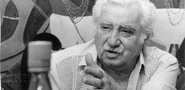 O escritor Jorge Amado no Rio de Janeiro (1984) - Lewy Moraes/Folhapress