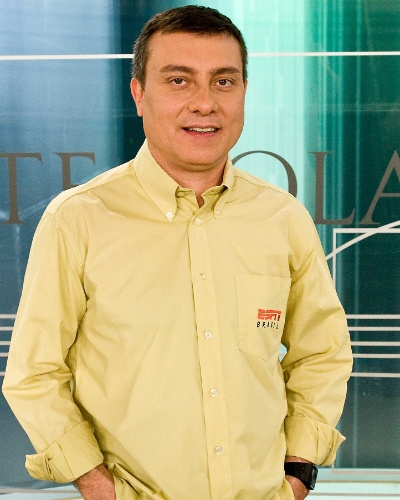 Paulo Calçade, comentarista da ESPN Brasil
