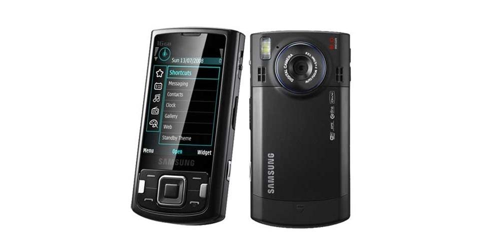 Smartphone Samsung i8510 tinha sistema Symbian, câmera de 8 megapixels e tela de 2,8 polegadas. Foi lançado em 2008