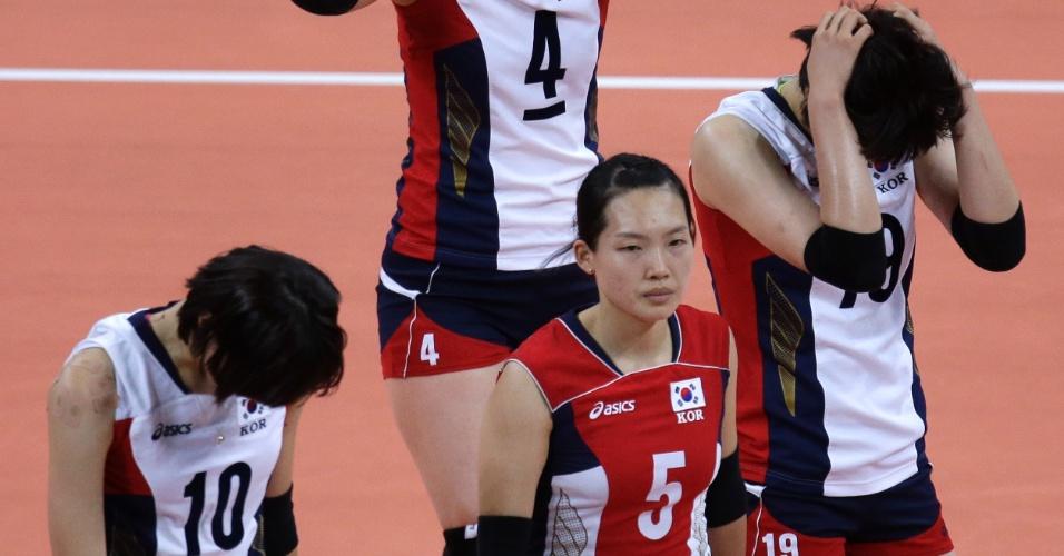Yeon Kim, jogadora da seleção de vôlei da Coreia do Sul