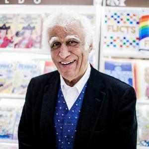 Ziraldo é fotografado durante a 22º Bienal Internacional do Livro, em São Paulo (9/8/2012) - Leonardo Soares/UOL