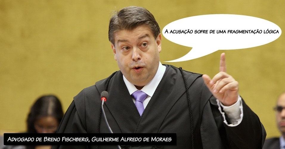 """10.ago.2012 - """"A acusação sofre de uma fragmentação lógica"""", disse o advogado de Breno Fischberg, Guilherme Alfredo de Moraes Nostre"""