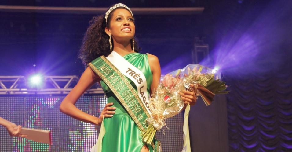 9.ago.2012 - A representante de Três Lagoas, Karen Recalde, venceu o Miss Mato Grosso do Sul 2012 e vai representar o Estado no Miss Brasil. O anúncio foi feito na noite de quinta-feira (9), pela Miss Brasil 2011, Priscila Machado. Na foto, a plateia do certame