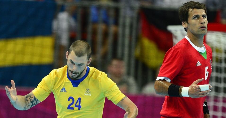 Fredrik Petersen, da Suécia, e Tamas Mocsai, da Hungria