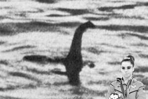 McKayla Maroney não está impressionada com a aparição do monstro do lago Ness