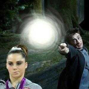 McKayla Maroney não está impressionada com os poderes de Harry Potter