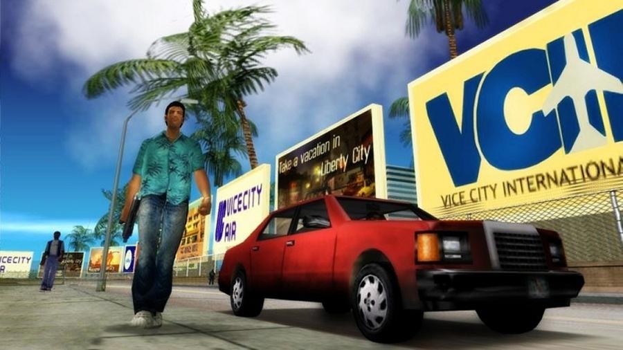 GTA Vice City foi lançado em 2002 - Divulgação