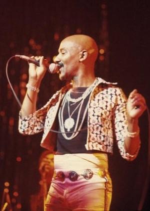 O cantor Errol Brown, da banda Hot Chocolate - Divulgação